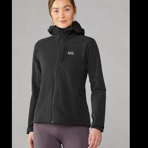 REI Gray Zip Up Outdoor Jacket
